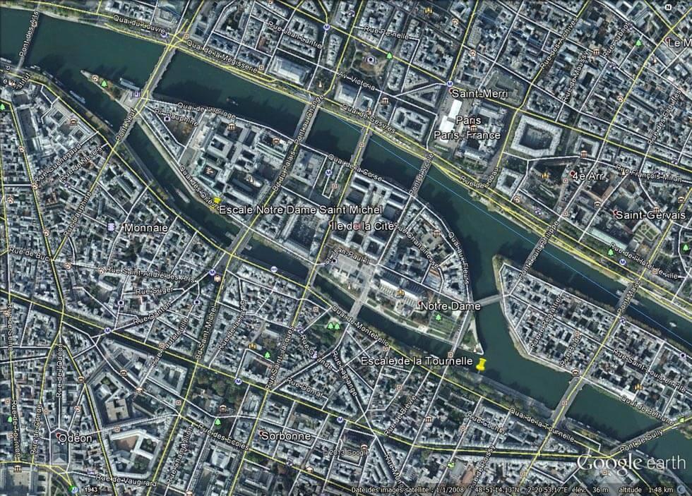 Notre Dame de Paris et la Tournelle